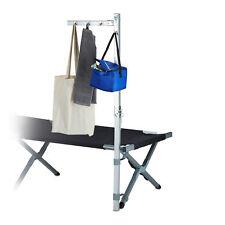 Kleiderständer Camping Aluminium für Campingliegen Feldbett silber Kleiderstange