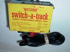 Matchbox Switch-A-Track Model #1600 Hobby Transformer Original Cond.Wow ! L@K !