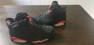 Nike Air Jordan Infrared Black Wie Neu Schuhe Größe 43 US 9,5 Orginal