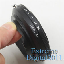 CRX to LM Adapter for Contarex CRX Lens to Leica M5 M6 M M9 M8 M7 TECHART LM-EA7