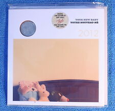 Canada 2012 - Born in Canada Baby Gift Uncirculated Set - Mobile Quarter