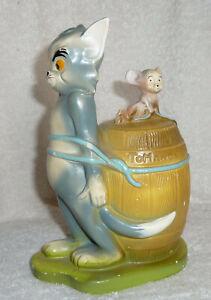 Fabulous Vintage Tom & Jerry Ceramic Money Box From 1972 - 20cm High