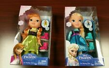 DISNEY FROZEN TODDLER ICE SKATING DOLLS SET OF 2 - ELSA & ANNA. READY TO SHIP!