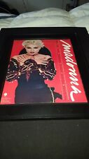 Madonna You Can Dance Rare Original Promo Poster Ad Framed!