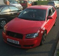 AUDI A3 2005 3DR HATCH S LINE 2.0 FSI RED 6 SPEED BREAKING FOR SPARES DOOR CLIP