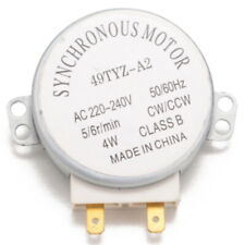 Microwave Oven Synchronous Motor 49TYZ-A2 AC 220-240V CW/CCW 4W 5/_cx