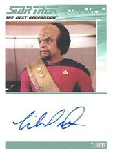 2019 Star Trek Inflexions TNG Style Michael Dorn As Lt. Worf Autograph Card RARE