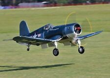 1/6  Scale F4U Corsair  84 inch wing Giant Scale RC AIrplane Digital PDF Plans