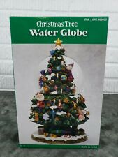 Christmas Tree Musical Spinning Snow Water Globe We Wish You A Merry Christmas