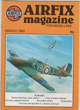 Airfix Magazine  Modellers  March 1980 Hawker Hurricane US Army Equipment Bombs