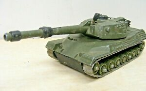 Dinky Toys #692 Leopard Tank, Good Tracks, Everything Works!