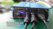 500W Grid tie inverter 24V Battery discharge Battery energy For battery 24v Adju