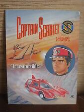 BD EO 1993 CAPTAIN SCARLET  INDESTRUCTIBLE  GERRY ANDERSON