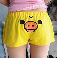 FD5144 Rilakkuma San-X Yellow Chicken Lounge Sleep Shorts Sleepwear Pants Gift