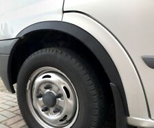 FORD TRANSIT Mk6 Bus Wing Wheel Arch Panel Trims Spats Matt Black 4 pcs '00-06