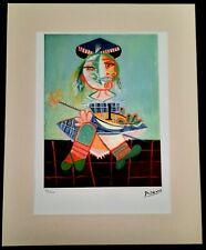 Original Farb-Lithographie von Picasso Limitierte Auflage Nr.48/250