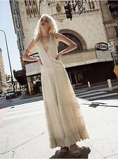 Free People White Oberoi Embellished Maxi Wedding Dress-XS-$250 MSRP