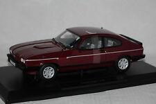 Ford Capri MK III 2,8i 1982 dunkel rot 1:18 Norev neu & OVP 182717