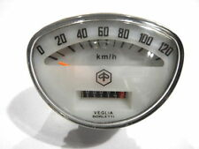 Vespa Tachimetro 120Km/h Primavera,ET3,Super Sprint,Veloce ecc. Bianco)(V-666)