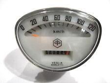 Vespa Tacho 120Km/h Vespa Primavera,ET3,Super Sprint,Veloce etc.(Weiß)(V-666)