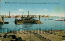GOSPORT Gosport Harbour - Floating Bridge Postcard HAMPSHIRE Anon