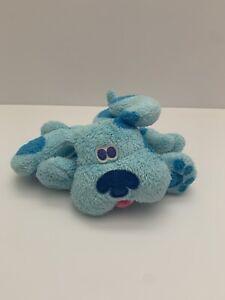 "2002 Fisher Price Mattel Viacom Int 6"" Plush Blues Clues Plush Stuffed Dog Puppy"