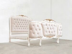 ROCOCO JOANNA BED KINGSIZE  FRENCH WHITE HAND MADE BRAND NEW