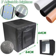25''x25'' Portable LED Light Box Photography Soft Box Shooting Tent Photo Studio