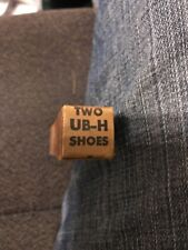 SUNNEN UB-H UBH SHOES (2) - NEW OLD STOCK USA