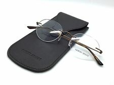 New Authentic Giorgio Armani Eyeglasses  titanium Rimless AR5004-T 3004 48 20