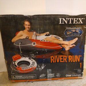 "Intex River Run I Sport Lounge 53"" Inflatable Water Float Pool River Lake NIB"