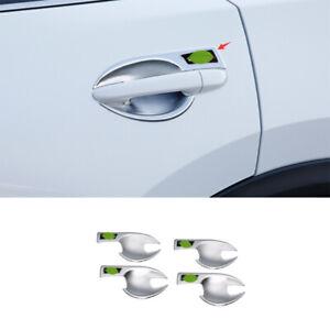 For Mazda CX-5 CX5 2017-2021 ABS Chrome Exterior Side Door Bowl Cover Trim 4PCS