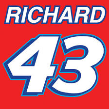 #43 RICHARD PETTY NASCAR COLLECTABLE METAL FRIDGE MAGNET #0108