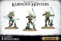 Sylvaneth Kurnoth Hunters Games Workshop Warhammer Age of Sigmar Waldelfen AOS