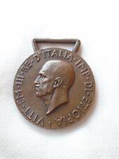 "WW2 Medaglia Vittorio Emanuele III Africa Orientale ""Z"" corona Rara!"