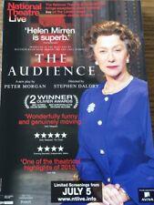 Promotional Movie Flyer *NOT A DVD* The Audience Helen Mirren