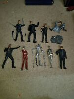 "McFarlane Toys Terminator T-1000 7"" T2 Judgement Day Figure terminatrix job lot"