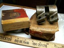 2 1929-1939 Plymouth Muffler Clamp MOPAR 1064456 1064457 antique vintage old