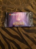 MAGIC THE GATHERING THRONE OF ELDRAINE PROMO BOOSTER PACK SEALED mtg x1