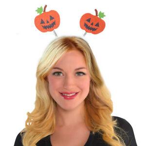 Halloween Adult Jack O Lantern Pumpkin Headboppers