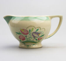British Art Pottery Susie Cooper Dresden Spray rex milk / gravy Jug 2-3 1932+