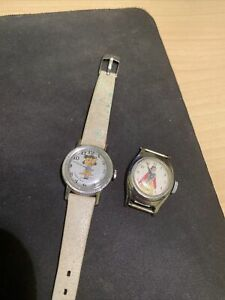 Vintage Lucy Peanuts Watch Ladies and US Time Snow White watch Ladies