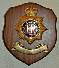 Police Staff College mess wall plaque shield crest Constabulary Bramshill