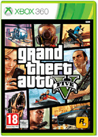 Xbox 360 - Grand Theft Auto V (GTA 5) **New & Sealed** Official UK Stock