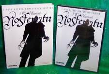 NEW KINO FW MURNAU NOSFERATU 2 DISC DELUXE EDITION MOVIE DVD 1922 & SLIPCOVER