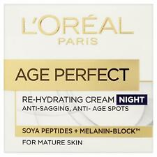L'Oreal Paris Age Perfect Re-hydrating Night Cream For Mature Skin 50ml