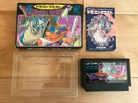 EXC++ Dragon Quest 1 I Warrior Nintendo Famicom FC NES NTSC-J Japan Import CIB