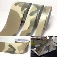 Desert Camouflage Camo Decors DIY Tape House Car Decal Vinyl Wrap Sticker - AB