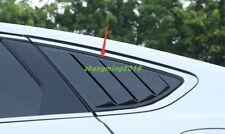 Carbon Fiber Side Vent Window Scoop Louver Trim For Ford Fusion Mondeo 2013-2018