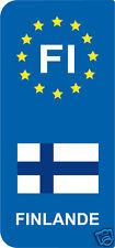 2 Stickers Europe FINLANDE